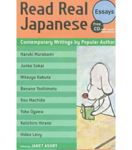 Read Real Japanese Essays: Contemporary Writings by Popular Authors (CD audio incluso)