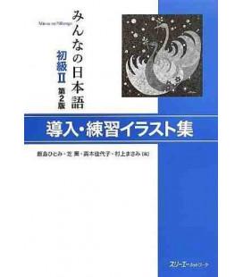 Minna no Nihongo 2- Donyu (Illustrazioni di frasi esempio)- Seconda Edizione