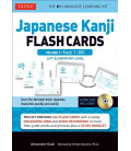 Japanese Kanji Flash Cards Kit, Vol. 1 (Kanji 1-200: JLPT Beginning Level)