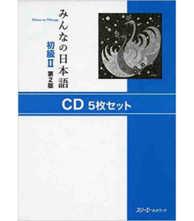 Minna No Nihongo 2- Set di 5 CD (Seconda edizione)