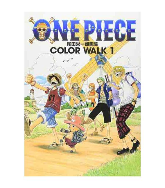 One Piece Color Walk 1