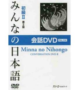Minna No Nihongo Elementare 2 - DVD PAL (Shokyu 2 - Kaiwa) Seconda Edizione