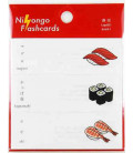 "Post-it alla giapponese ""Nihongo flashcards"" - Sushi"
