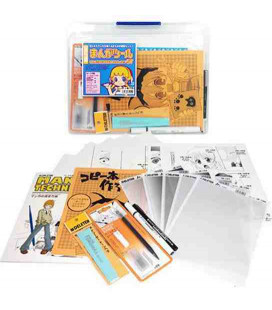 Deleter Manga Tool Set Starter (Kit para dibujar manga por primera vez)