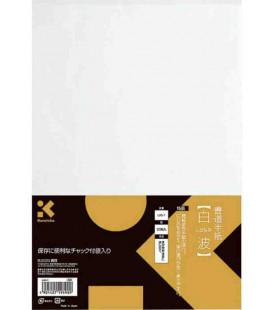 Fogli per calligrafia Kuretake-Modello LA5-1 (Elementare) - 50 fogli - Carta fine
