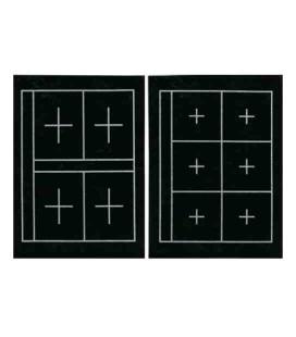 Copertina per Calligrafia Kuretake KA23101 (36*27 cm - double face, 6 e 4 quadrati su ogni lato)