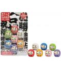 Iwako Puzzle Eraser - Daruma - (Mini Gomme Kawaii) Made in Japan