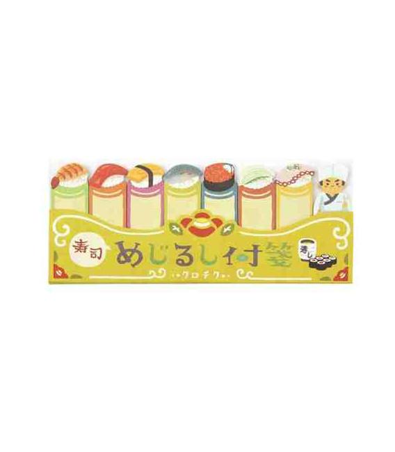 Marcadores adhesivos Kurochiku (Kyoto, Japón)- Modelo Sushi