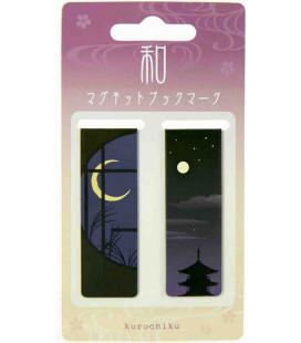 Segnalibro Magnetico Kurochiku (Kyoto)- Modello Notte
