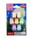 Iwako Puzzle Eraser - Lucky Owl - (Mini Gomme Kawaii) Made in Japan