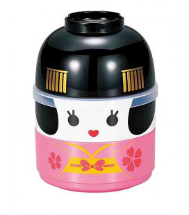 Hakoya Kokeshi Bento - Taglia M - Modello 50642-6 (Maiko) - Colore rosa