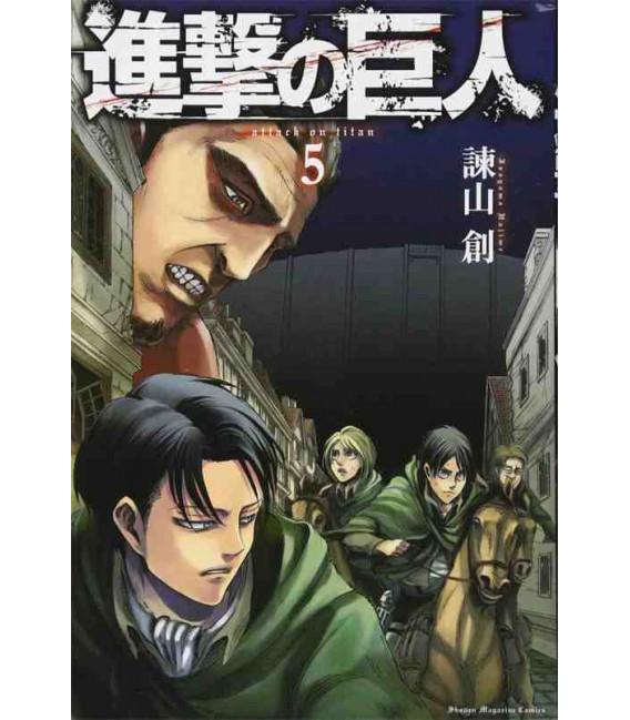 Shingeki no Kyojin (L'Attacco dei Giganti) Vol. 5