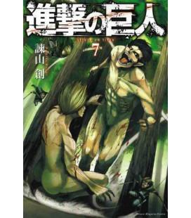 Shingeki no Kyojin (L'Attacco dei Giganti) Vol. 7