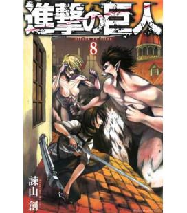 Shingeki no Kyojin (L'Attacco dei Giganti) Vol. 8