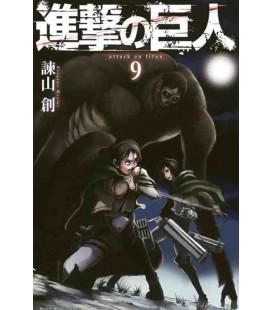Shingeki no Kyojin (L'Attacco dei Giganti) Vol. 9