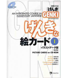 Genki: An Integrated Course in Elementary Japanese 1 - Picture Cards on CD-ROM MP3 (2° Edizione)