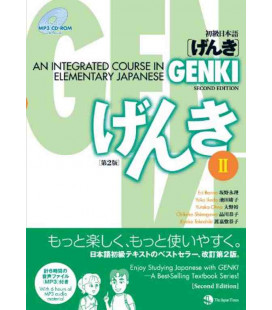 Genki: An Integrated Course in Elementary Japanese 2 textbook (Seconda Edizione) - CD-ROM MP3 incluso