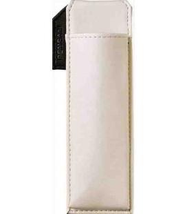 Portapenne Magnetico Giapponese in Pelle - Modello Pensam 2001 (White) - colore bianco