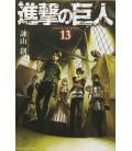 Shingeki no Kyojin (L'Attacco dei Giganti) Vol. 13