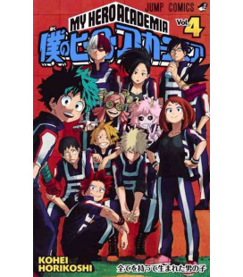My Hero Academia Vol. 4