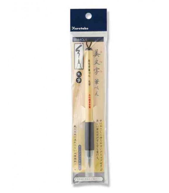 Pennarello - Fude Pen - Kuretake Bimoji punta spessa e rigida - Modello XT4-10S