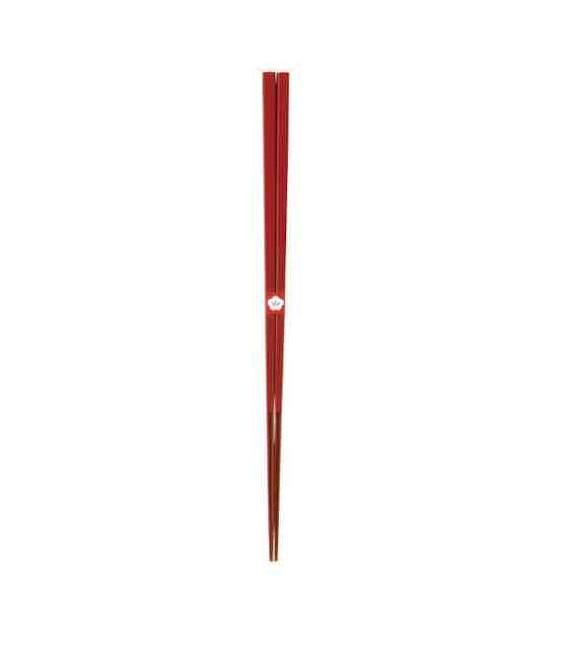 Bacchette giapponesi tradizionali Kawai - Colore Kodaishu (vermiglio)