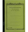 Apica CG53-MG Notebook (Formato A5 - Colore verde kaki - Quadrettato - 52 Fogli)