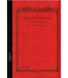 Apica CG53-VE Notebook (Formato A5 - Colore Arancione - Quadrettato - 52 fogli)