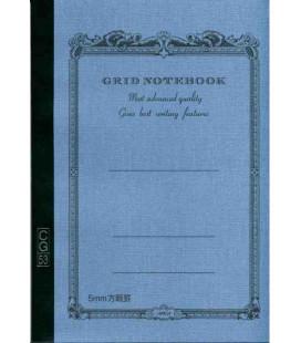 Apica CG53-BL Notebook (Formato A5 - Colore azzurro - Quadrettato - 52 Fogli)