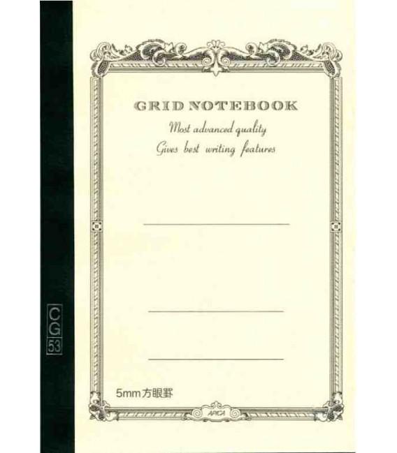 Apica CG53-WH Notebook (Formato A5 - Colore bianco - Quadrettato - 52 Fogli)