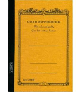 Apica CG54 - Notebook (Formato B6 - Colore giallo - Quadrettato - 104 Fogli)
