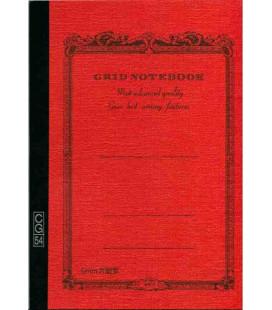 Apica CG54 - Notebook (Formato B6 - Colore arancione - Quadrettato - 104 fogli)