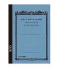 Apica CG54 - Notebook (Formato B6 - Colore azzurro - Quadrettato - 104 fogli)