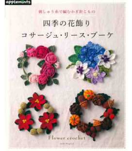 Flower Crochet - Include 46 disegni