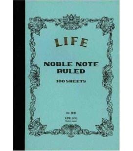 Life Noble Memo - N30 (Formato B6 - Azzurro - a righe - 100 Fogli)