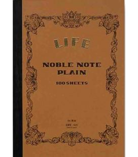 Life Noble Memo - N29 (Formato B6 - colore marrone - liscio - 100 Fogli)