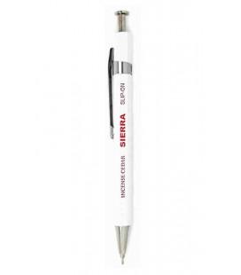 Penna Giapponese Sierra (Cassa in legno di cedro) - inchiostro nero - Dimensione S - Colore bianco