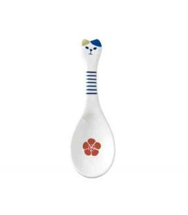 Decole - Ceramic Neko Spoon - Blu