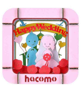 Hacomo - Carta - Happy Wedding