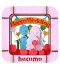 Hacomo - Tarjeta - Happy Wedding