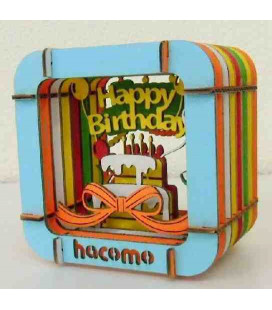 Hacomo - Carta - Happy Birthday