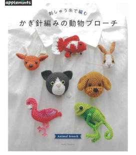Animal Brooch - Include 63 disegni