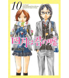 Shigatsu wa Kimi no Uso - Your Lie in April - Vol. 10