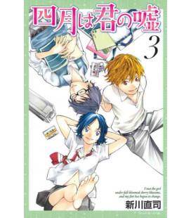 Shigatsu wa Kimi no Uso - Bugie d'aprile - Vol. 3