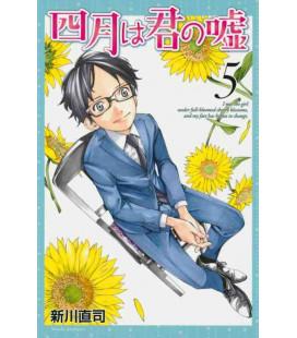 Shigatsu wa Kimi no Uso - Bugie d'aprile - Vol. 5