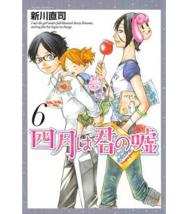 Shigatsu wa Kimi no Uso - Bugie d'aprile - Vol. 6