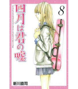 Shigatsu wa Kimi no Uso - Bugie d'aprile - Vol. 8