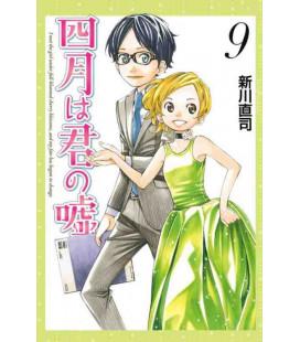 Shigatsu wa Kimi no Uso - Bugie d'aprile - Vol. 9