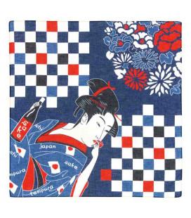 Bandana giapponese Kurochiku - Modello Bijinga