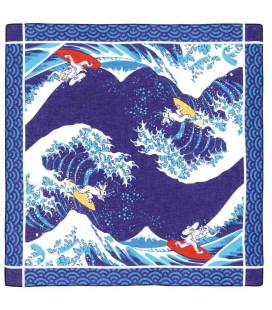 Bandana giapponese Kurochiku - Modello Namifuji